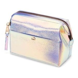 QUAY AUSTRALIA Glam Holographic Large Makeup Bag